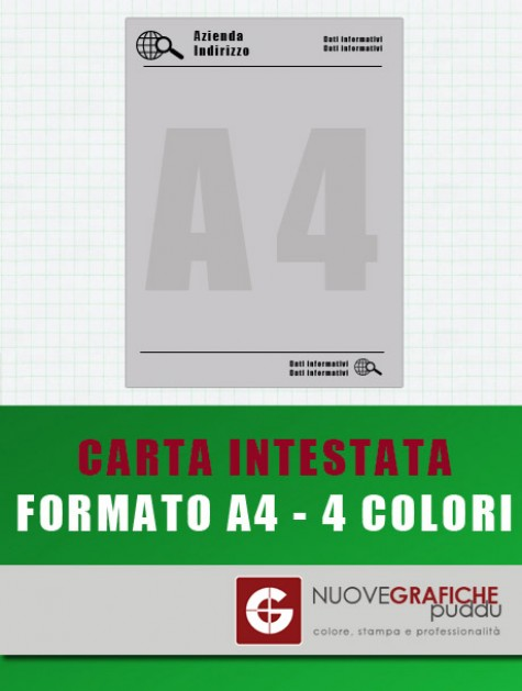 Carta Intestata - 4 colori